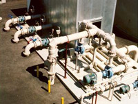 Acoustical enclosure Water Treatment Plant