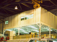 Permit Series Elevated aircraft maintenance offices
