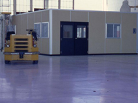 Permit Series Modular Helicopter Maintenance Building