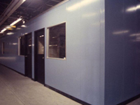 Permit Series steel faced modular offices