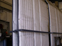 Rolling Acoustical Screens