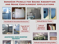 Sound Absorption Panels Illustration